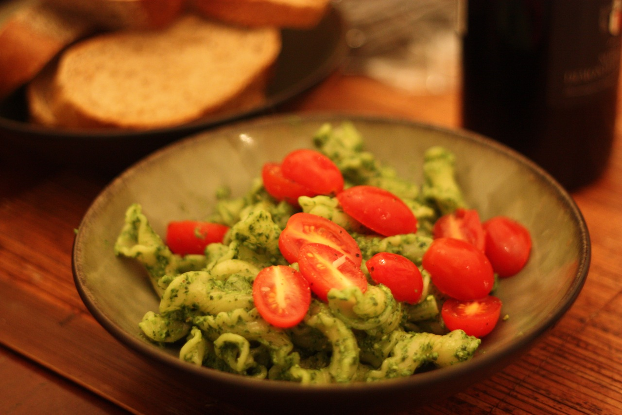 Swiss chard pesto, with pumpkin seeds and queso añejo - The Mija ...