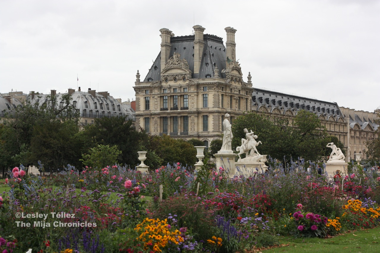 Parisians are nice and three other things i learned in paris for Paris tuileries