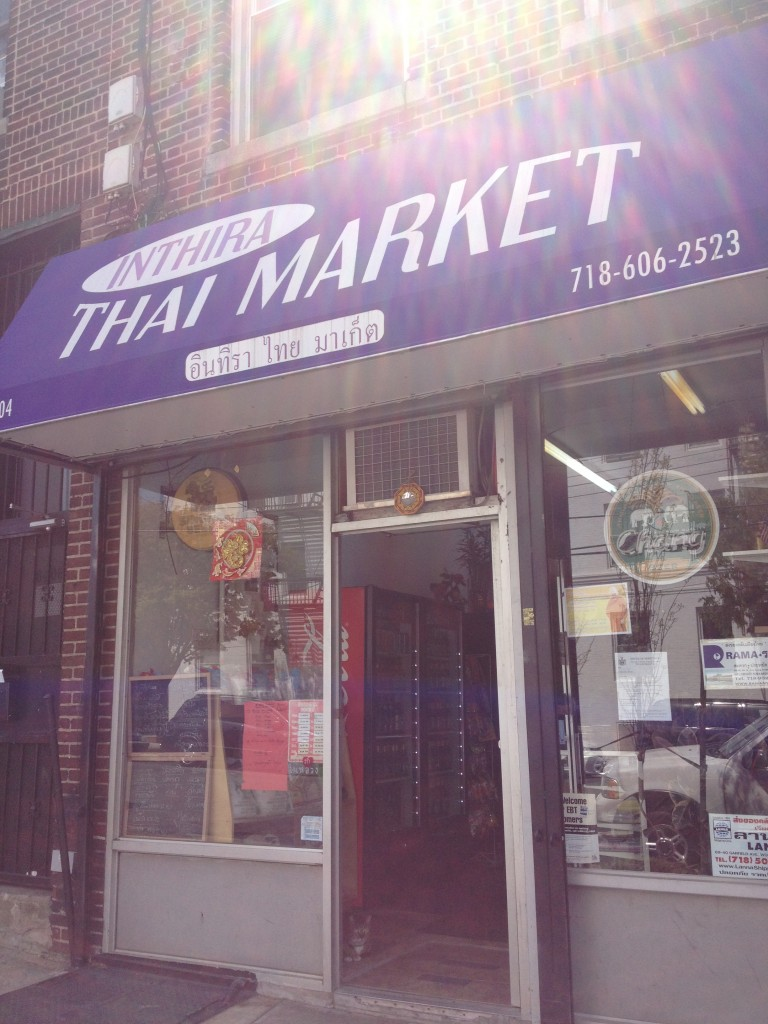 Inthira Thai Market in Woodside, Queens