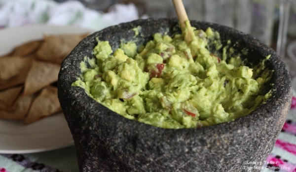 Grape guacamole